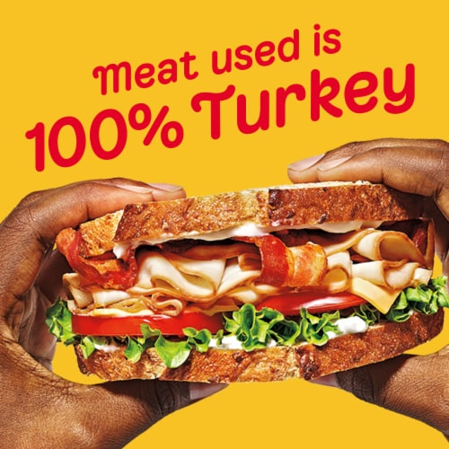 Oscar Mayer Deli Fresh Honey Smoked Turkey Breast Perspective: left