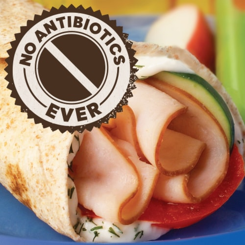 Oscar Mayer Natural Applewood Smoked Turkey Breast Lunch Meat Perspective: left