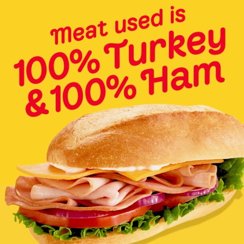 Oscar Mayer Smoked Ham & Turkey Sub Kit Perspective: left