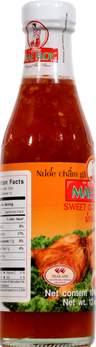 Mae Ploy Sweet Chili Sauce Perspective: left