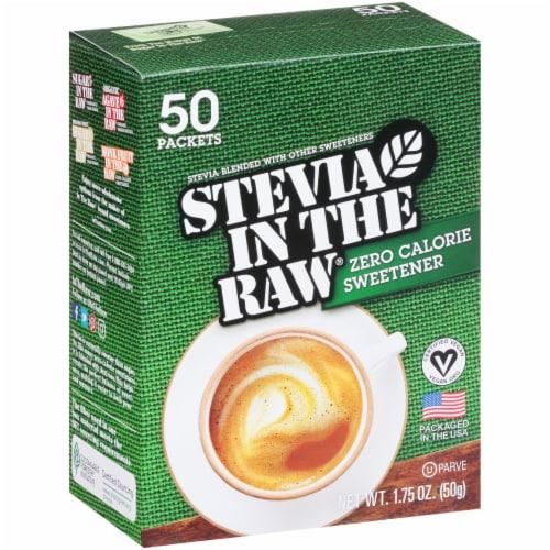 Stevia In The Raw Zero Calorie Sweetener Perspective: left