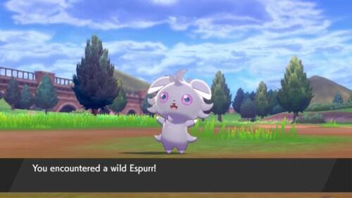 Pokemon Sword - Nintendo Switch Perspective: left