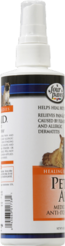 Four Paws Pet Aid Anti-Itch Spray Perspective: left