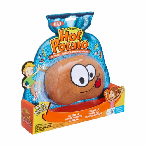 Poof  Electronic Hot Potato Musical Passing Game Perspective: left
