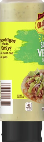 Old El Paso Medium Creamy Salsa Verde Sauce Perspective: left