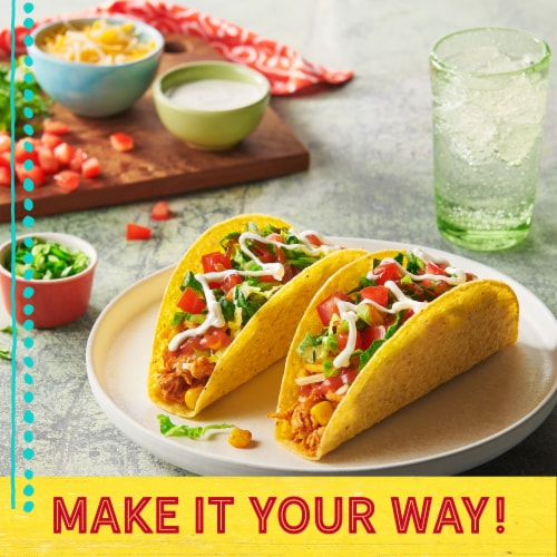 Old El Paso Stand 'N Stuff Taco Shells Perspective: left