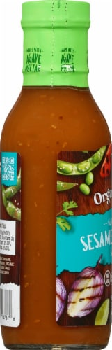 Organicville Organic Sesame Teriyaki Sauce Perspective: left