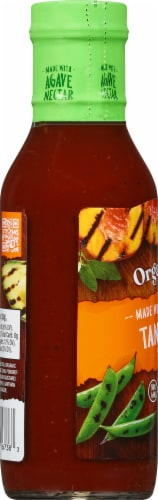 Organicville Organic Tangy BBQ Sauce Perspective: left