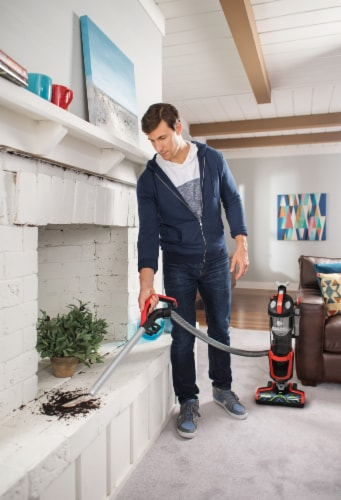 Dirt Devil Razor Vac Plus Upright Vacuum Perspective: left