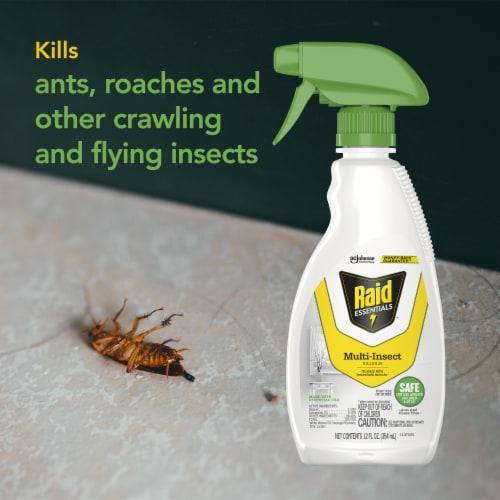 Raid® Essentials Multi Insect Killer Perspective: left