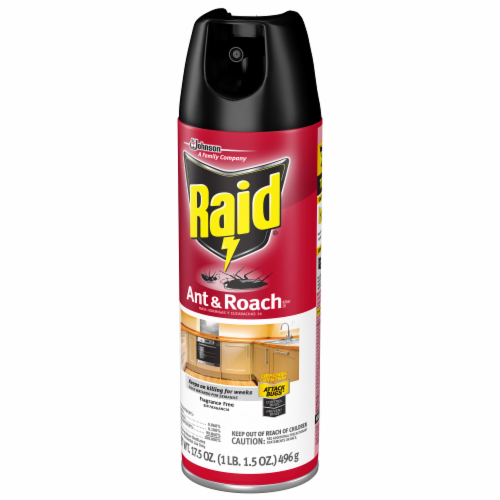 Raid® Fragrance Free Ant & Roach Killer Perspective: left