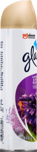 Glade Lavender & Peach Blossom Room Spray Perspective: left