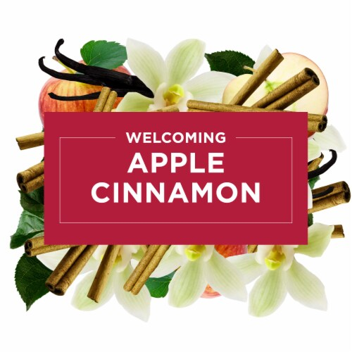 Glade Apple Cinnamon Jar Candle Perspective: left