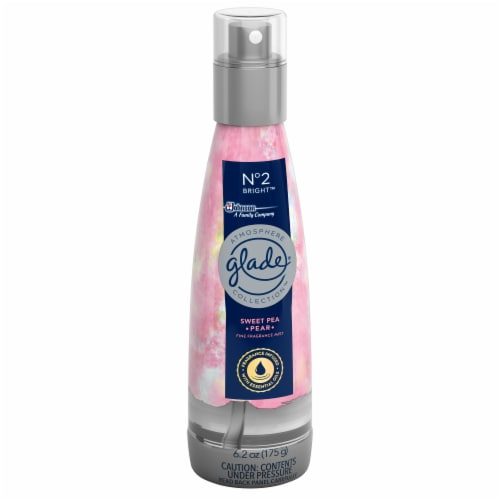 Glade Atmosphere Fine Fragrance Mist No. 2 Bright: Sweet Pea & Pear Perspective: left