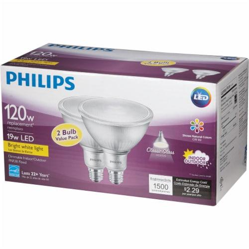 Philips 19wpar38 Bw T20 Led Bulb 532507 Perspective: left