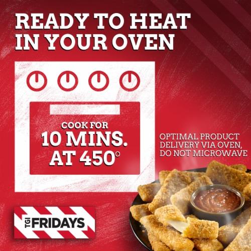 TGI Friday's Mozzarella Sticks Perspective: left