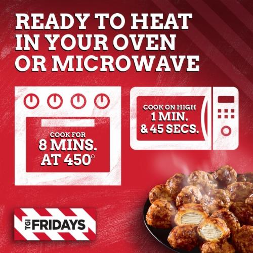 TGI Fridays Honey BBQ Boneless Chicken Bites Perspective: left