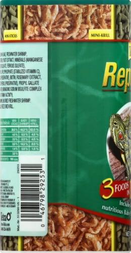 Tetra ReptoMin Select-A-Food Reptile Food Perspective: left