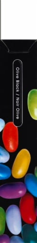 JVC Gumy Plus Noise Isolation Stereo Headphones - Olive Black Perspective: left