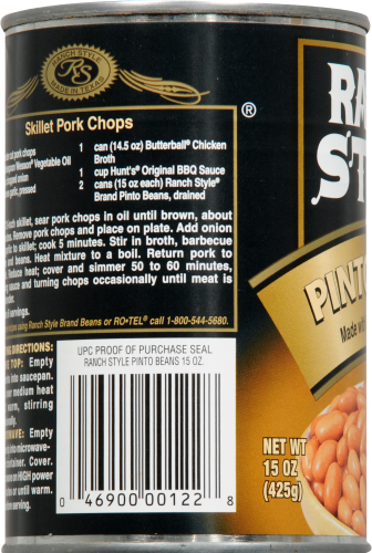 Ranch Style Pinto Beans Perspective: left