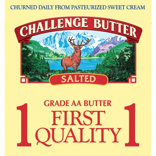 Challenge Salted Butter Perspective: left