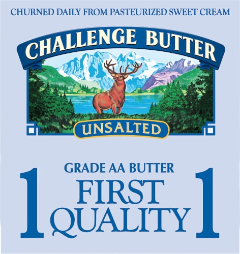 Challenge Unsalted Butter Perspective: left