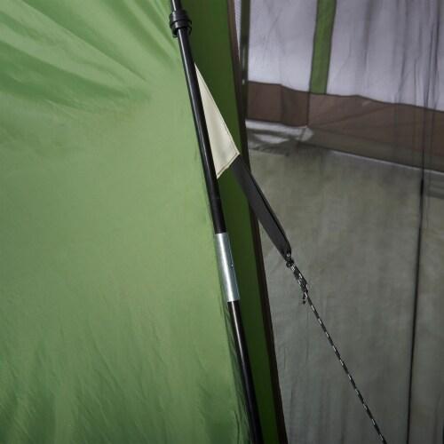 Wenzel Durango 120 Square Foot Magnetic Door Screen House Dome Tent, Green Perspective: left