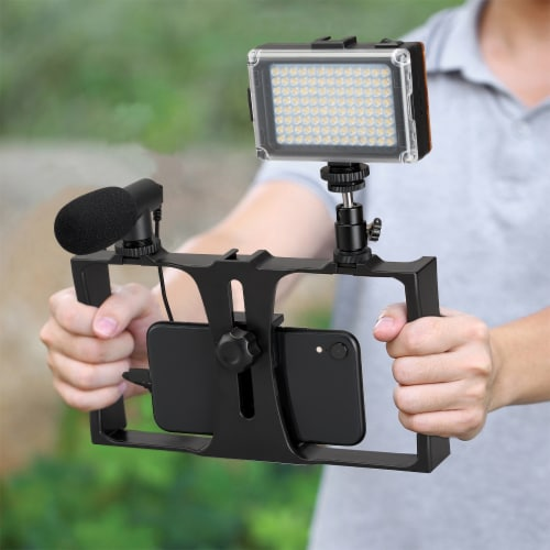 GPX All-In-One Vlogging Kit Perspective: left