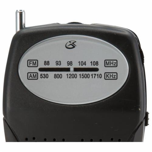 GPX R116B Compact Radio Perspective: left