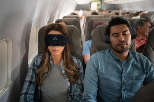 iLive IAHB31B Bluetooth Sleep Mask Headphones Perspective: left