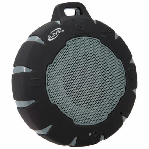 iLive ISBW157B Bluetooth Portable Speaker - Black Perspective: left