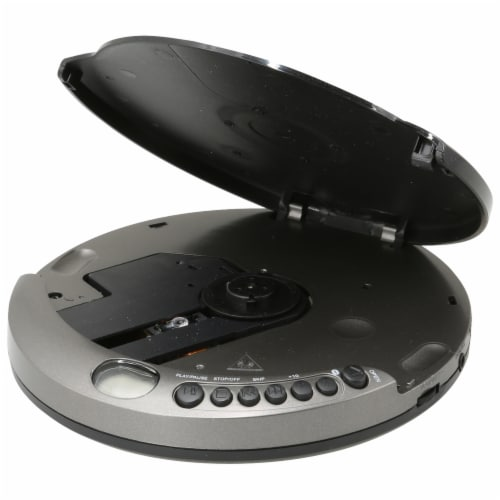 GPX Portable CD Player - Gray Perspective: left