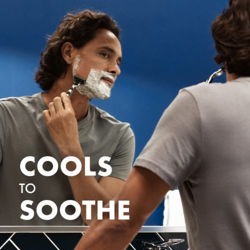Gillette TGS Series Mens Shaving Gel - Sensitive Perspective: left