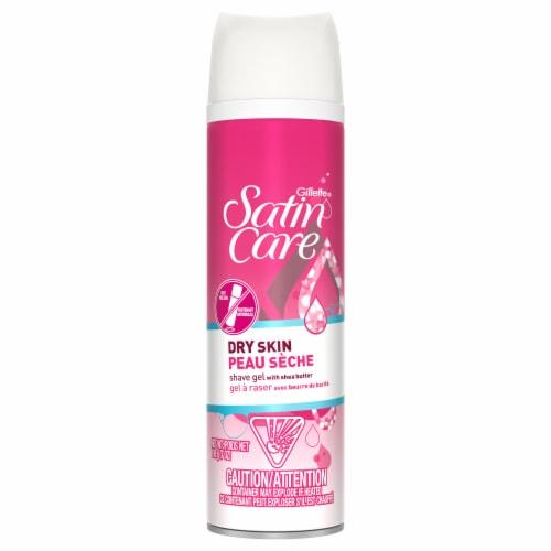 Gillette® Satin Care Dry Skin Shave Gel for Women Perspective: left