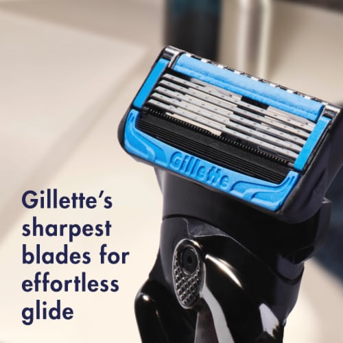 Gillette ProGlide Chill Men's Razor Blades Refills Cartridges Perspective: left