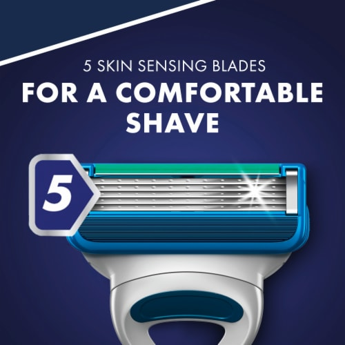 Gillette® Sensor5 Men's Disposable Razor Perspective: left