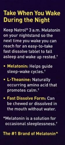 Natrol 3 a.m. Melatonin Tablets 30 Count Perspective: left