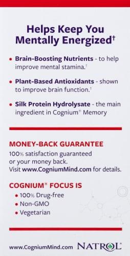 Natrol Cognium Focus Capsules Perspective: left