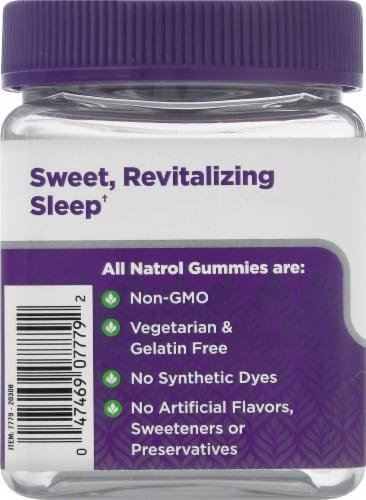 Natrol Sleep + Calm Strawberry Gummies Perspective: left