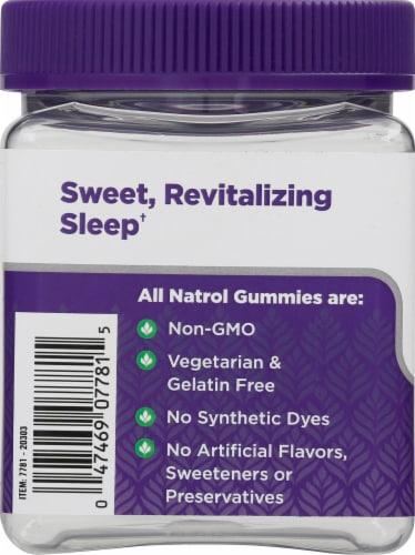 Natrol Raspberry Sleep + Beauty Gummies Perspective: left