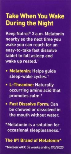 Natrol® 3 am Melatonin Sleep Tablets Perspective: left