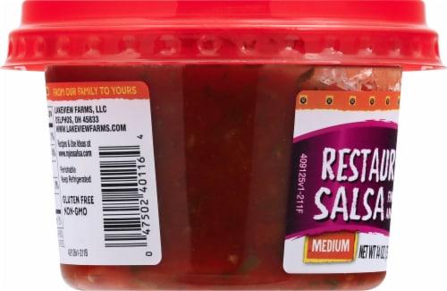 Rojo's Restaurant Style Medium Salsa Perspective: left