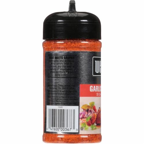 Weber Garlic Sriracha Seasoning Shaker Perspective: left