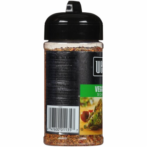 Weber Veggie Grill Seasoning Perspective: left