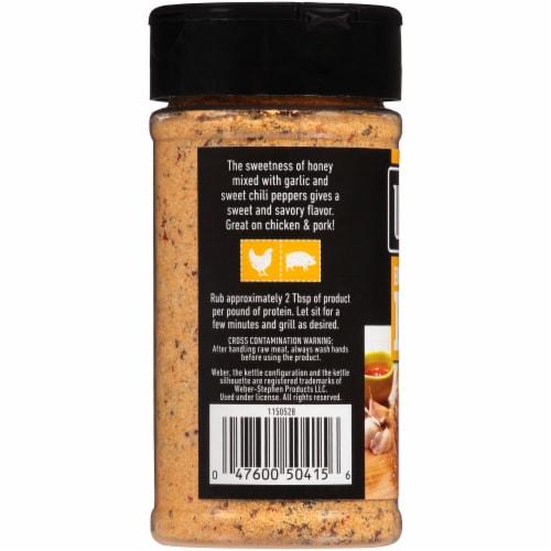 Weber Honey Garlic Rub Perspective: left
