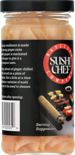 Sushi Chef Pickled Ginger Perspective: left