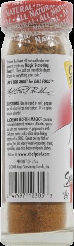 Chef Paul Prudhomme's Blackened Redfish Magic Seasoning Perspective: left