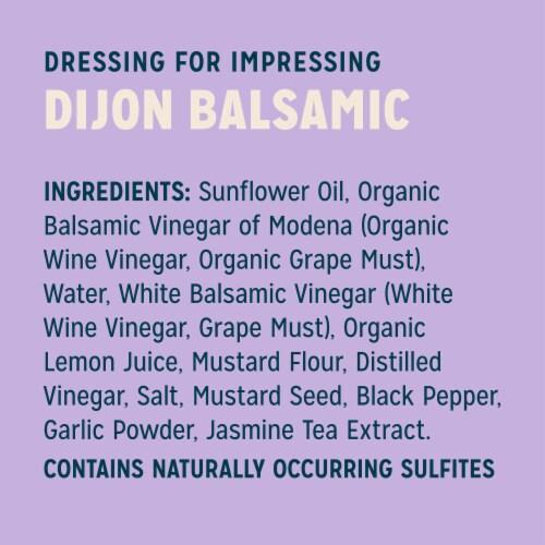 Sir Kensington's Keto & Paleo Dijon Balsamic Vinaigrette Gluten-Free Vegan Dressing & Marinade Perspective: left