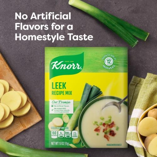 Knorr Leek Recipe Mix Perspective: left