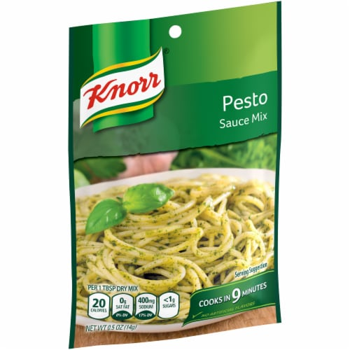 Knorr Pesto Sauce Mix Perspective: left